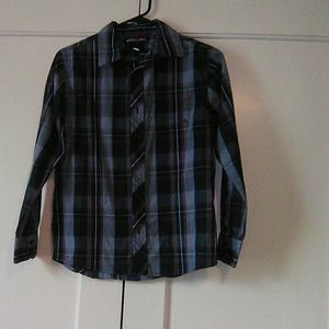 Boys long sleeve button shirt